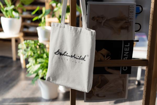 Weiße berlinchild Tote Bag